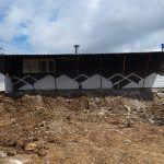 Demolición terraza antigua