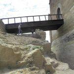 Los restos encontrados y el nuevo acceso al castillo