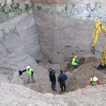 Excavación exterior de la torre Norte