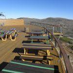 Terraza y balcón  cota 1900 Valdelinares acabados