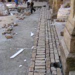 Pavimentación con piedra de Mosqueruela