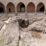 Excavación arqueológica del Patio de armas