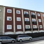 Colocación SATE en fachada trasera c/Somport de inmueble c/Anzánigo nº 4